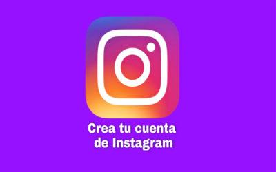 Crea tu cuenta en Instagram