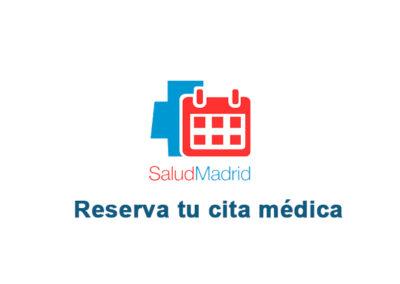 Reserva tu cita médica.
