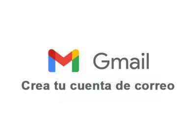 Crea una cuenta de correo con Gmail